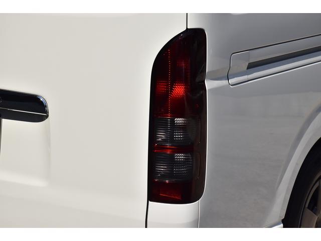 ロングDX オリジナルカスタムコンプリートVer.1 6人乗り 両スラ ベッドキット 木目調インテリアパネル&コンビハンドル 純正ナビ ETC スモークテール バッドフェイス ブラックエンブレム ローダウン(28枚目)