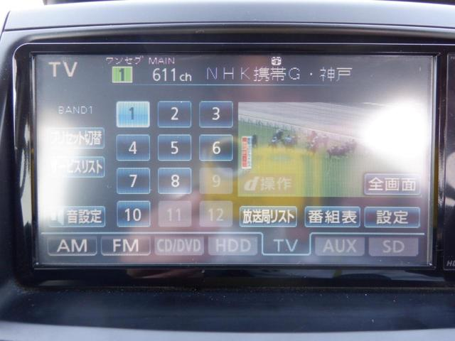 ZS 煌 両側電動スライドドア HDDナビ 地デジ DVD再生 バックカメラ 後席モニター HIDライト フォグ プッシュスタート スマートキ―(9枚目)