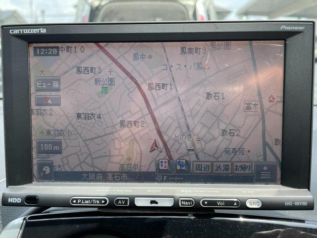 HDDナビ 地デジ CD/DVD再生
