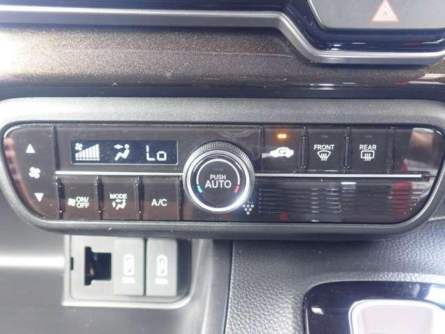 G・Lホンダセンシング オーディオレス リヤカメラ付き ETC LEDヘッドライト オートライト 左側パワースライドドア スマートキー ベンチシート オートリトラ オートエアコン 追突軽減ブレーキ アルミホイール(22枚目)