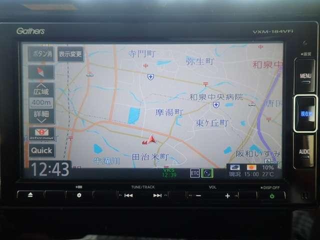 G・Lホンダセンシング 純正メモリーナビ フルセグTV DVD再生 Bluetooth対応 リヤカメラ ETC LEDヘッドライト オートライト 左側パワースライドドア スマートキー ベンチシート アルミホイール(3枚目)