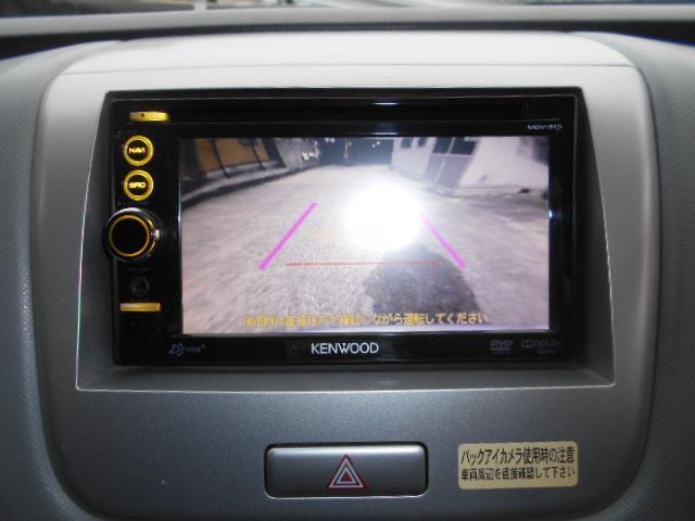 バックも安心リアカメラ付き、TV、DVD再生可能なオーディオ装備、メモリーナビで安心ドライブ