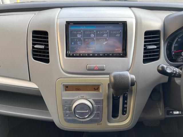 FX-Sリミテッド ユーザー買取・社外ナビ・フルセグ・ETC・HID・フォグ・オートライト・ベンチシート・純正アルミ・スマートキー・プッシュスタート(5枚目)