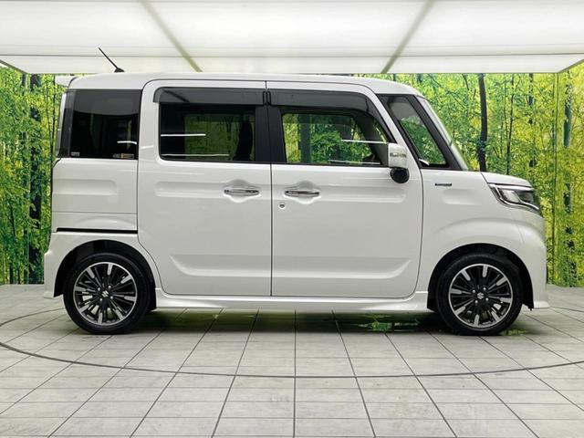 ハイブリッドXSターボ セーフティサポート 両側電動ドア LEDヘッドライト 純正15インチアルミ パドルシフト    シートヒーター パーソナルテーブル デュアルセンサーブレーキサポート 車線逸脱警報(52枚目)