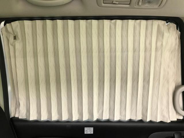純正の室内カーテンをオプション装備しておりますので、お出かけ先で車中泊するのにうってつけ!