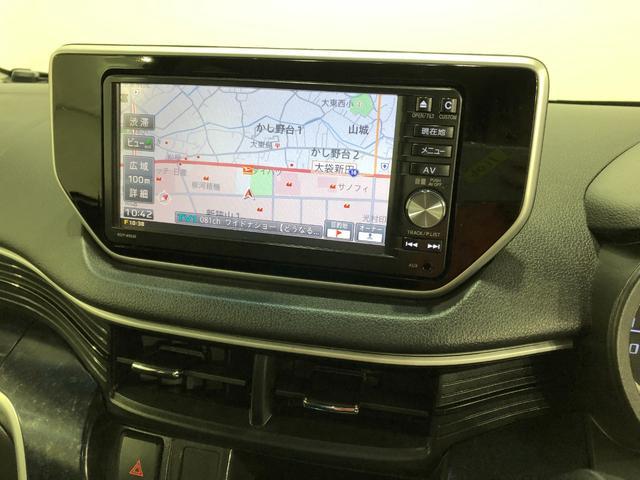 カスタム RS ハイパーSA 純正ナビ バックモニター キーフリー ターボ 純正フルセグメモリーナビ LEDライト オートライト 被害軽減ブレーキ 15インチアルミ ETC テレビナビコントロール(3枚目)
