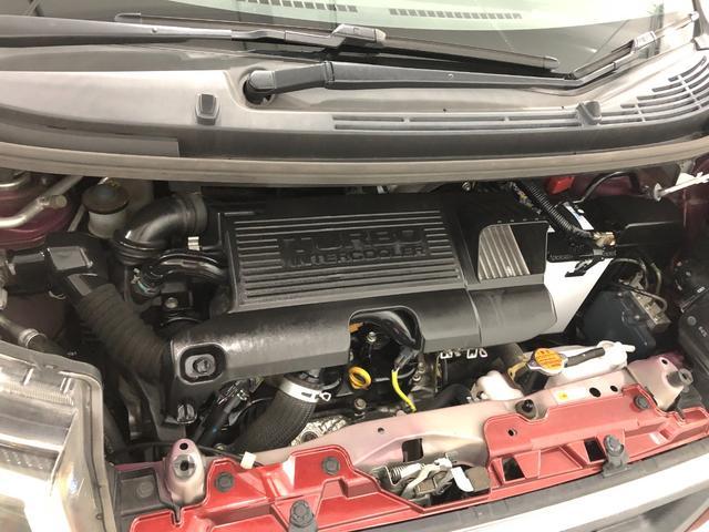 カスタム RS ハイパーSA 純正ナビ バックモニター キーフリー ターボ 純正フルセグメモリーナビ LEDライト オートライト 被害軽減ブレーキ 15インチアルミ ETC テレビナビコントロール(19枚目)