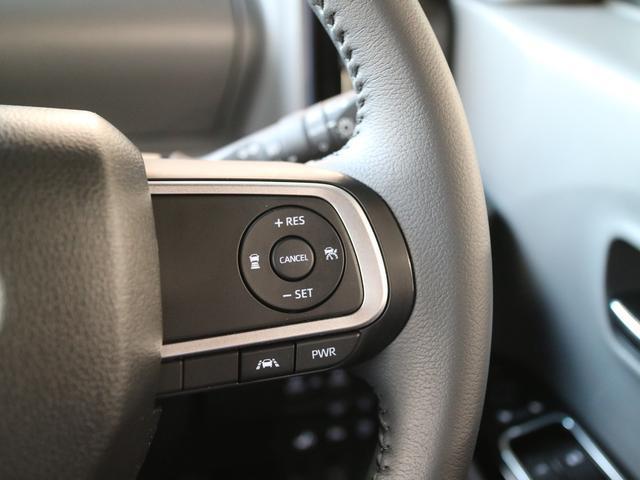 クルーズコントロールも簡単操作で快適ドライブ♪