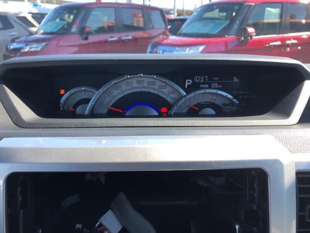 走行距離たったの8キロになります。まだまだこれからのキョリですね!見やすいスピードメーターですね。