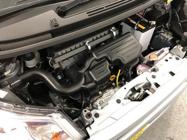 当社サービスカーUP車 走行距離1,346km 14インチフルホイールキャップ 電動カラー格納式カラードドアミラー キーレスエントリー マニュアルエアコン(19枚目)