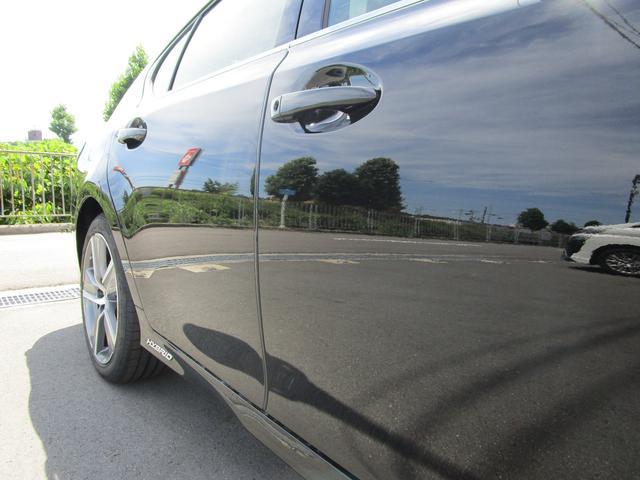 GS300h Iパッケージ ・サンルーフ・Fスポーツ仕様グリル・ワンオーナー・純正18インチアルミホイール・前後ドライブレコーダー・プリクラッシュセーフティ・シートヒーター&エアコン・黒革シート・サンシェード・パワーシート・(36枚目)