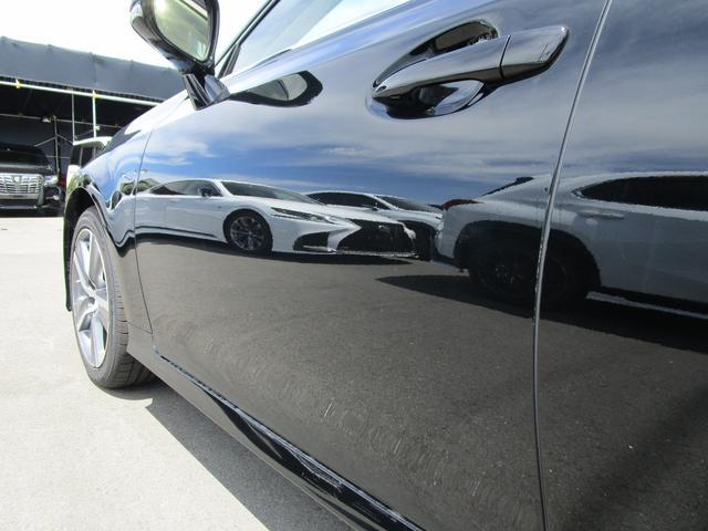 GS300h Iパッケージ ・サンルーフ・Fスポーツ仕様グリル・ワンオーナー・純正18インチアルミホイール・前後ドライブレコーダー・プリクラッシュセーフティ・シートヒーター&エアコン・黒革シート・サンシェード・パワーシート・(46枚目)