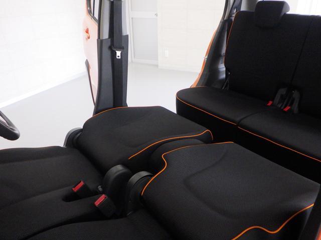 足を伸ばしてゆっくり休憩できる 広々車内です。