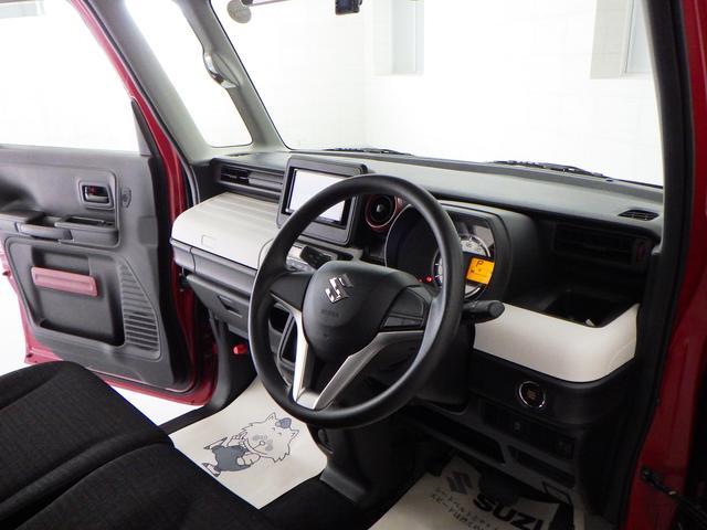 小物収納充実のスペーシア。スッキリ車内でドライブをお楽しみください。