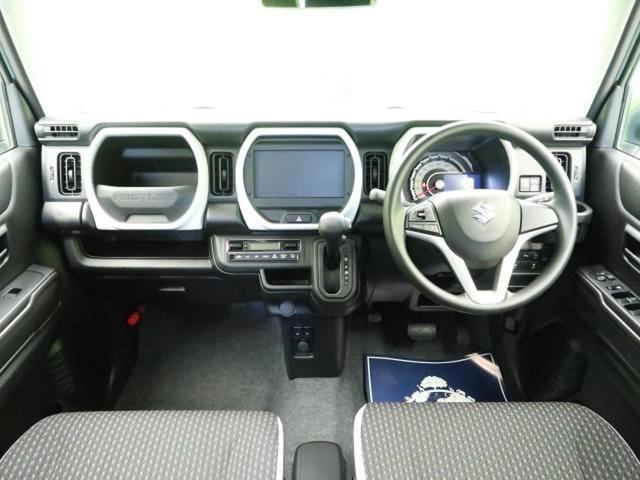ハイブリッドG 届出済未使用車 スズキセーフティサポート クリアランスソナー 前席シートヒーター オートエアコン スマートキー アイドリングストップ(3枚目)