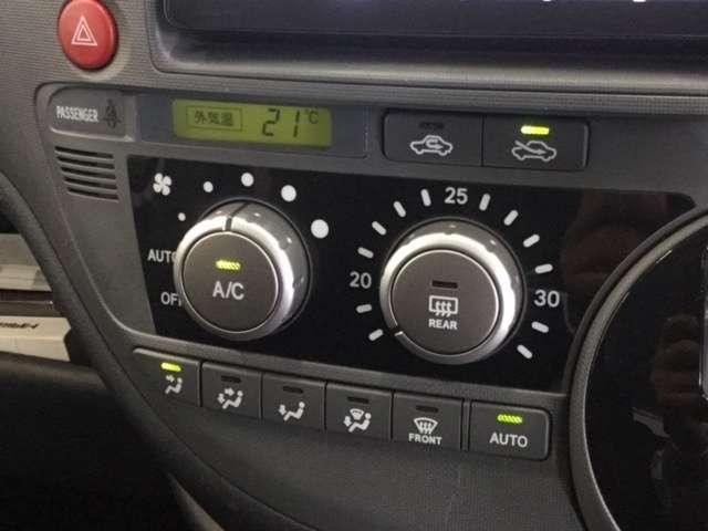 「オートエアコン」が付いています。1年中快適な室内を提供!車内温度を設定すると、風量を自動で調節してくれます。