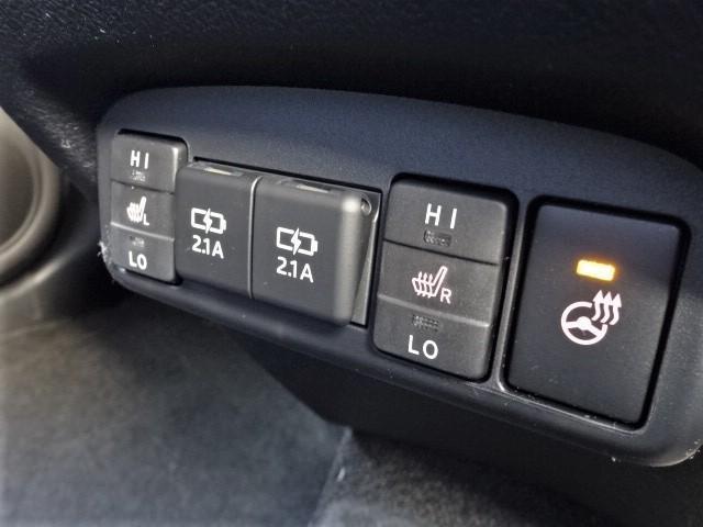 G クエロ 新車・パノラマミックビューナビレディパッケージ・ステアリングヒーター・シートヒーター・ハーフレザー・両側パワスラ・全周囲カメラ・安全ブレーキ・ソナー・レーンキープ・LEDヘッドライト・スマートキー(16枚目)