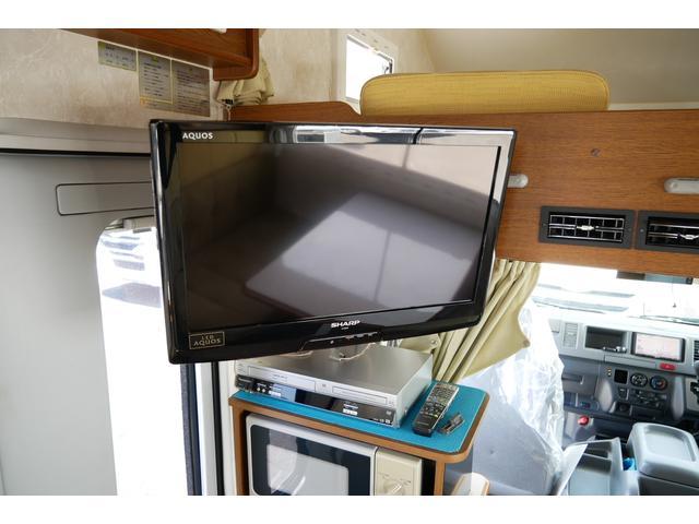アネックス リバティ FS52 FFヒーター ツインサブバッテリー 1500Wインバーター 65L冷蔵庫 ランチョショック 家庭用テレビ サイドオーニング HDDナビ フルセグ ETC(10枚目)