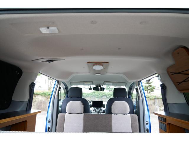 キャンピング仕様 トイファクトリー エコロ FFヒーター シングルサブバッテリー 500Wインバーター 走行充電 コンバーター パナソニックフローティングナビ フルセグ Bluetooth(11枚目)