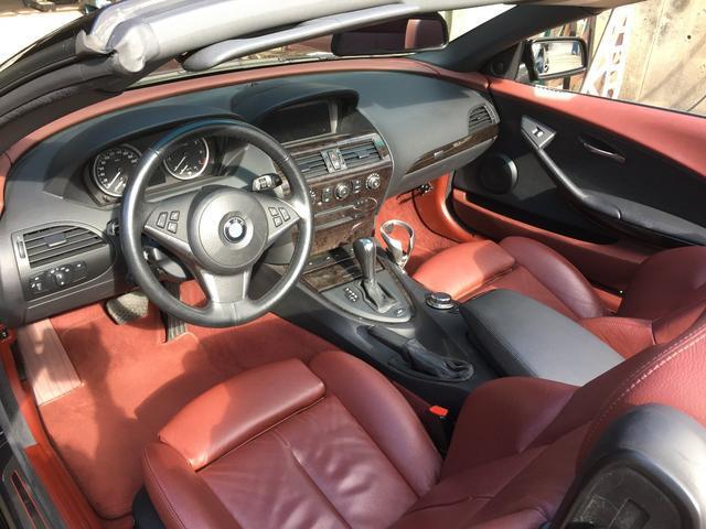 BMW BMW 650iカブリオレ レッドレザーパッケージ プッシュスタート