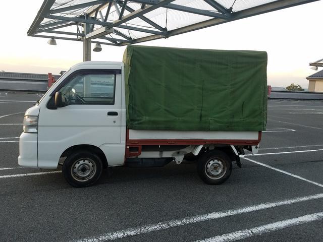 ダイハツ ハイゼットトラック ホロ 移動販売 3方開き