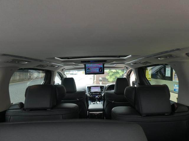 2.5S Cパッケージ 1オーナーユーザー様買取禁煙車 MOPツインナビTV パノラマビュー モデリスタフルエアロ SR 3眼LED シーケンシャル 置くだけ充電 100V電源 TVジャンパー ETC2.0 トヨタ保証継承付(29枚目)