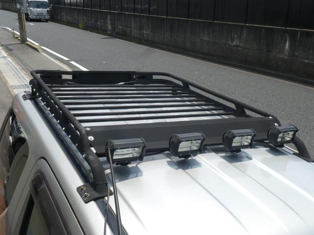 XC ユーザー様買取5型カスタムリフトUP車 ルーフキャリア LEDヘッド パナソニック9インチナビTV Bカメラ ラテラルロッド  スタビライザー悟空 ウーハー 牽引フック GEORANDAR X-AT(35枚目)