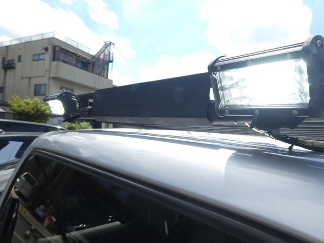 XC ユーザー様買取5型カスタムリフトUP車 ルーフキャリア LEDヘッド パナソニック9インチナビTV Bカメラ ラテラルロッド  スタビライザー悟空 ウーハー 牽引フック GEORANDAR X-AT(50枚目)