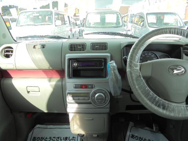 ダイハツ ムーヴコンテ X +S 社外CD 衝突安全ボディ 盗難防止システム