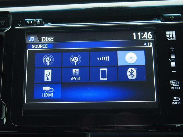 純正オーディオです!様々なデバイスが接続可能です。