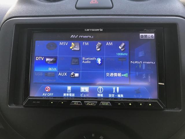 今では必需品のカロッツェリアナビ♪フルセグTVやDVDも見れちゃいます!!Bluetoothに接続してスマホから音楽再生や通話などが出来ます!!安心のバックカメラ付き!!