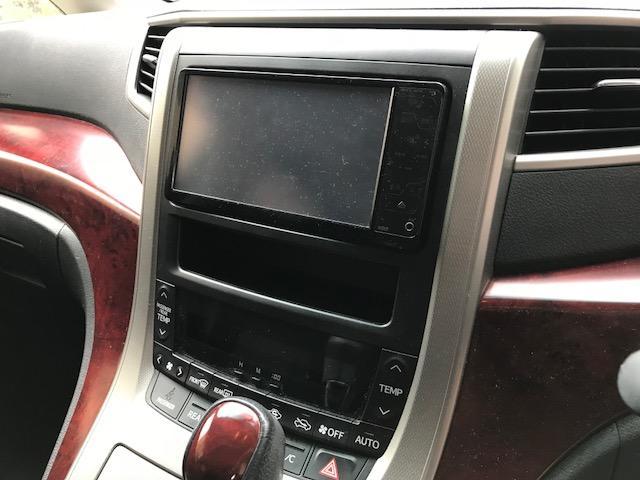 トヨタ ヴェルファイア 2.4Z純正HDDナビDVDフルセグETC両側PスラHID