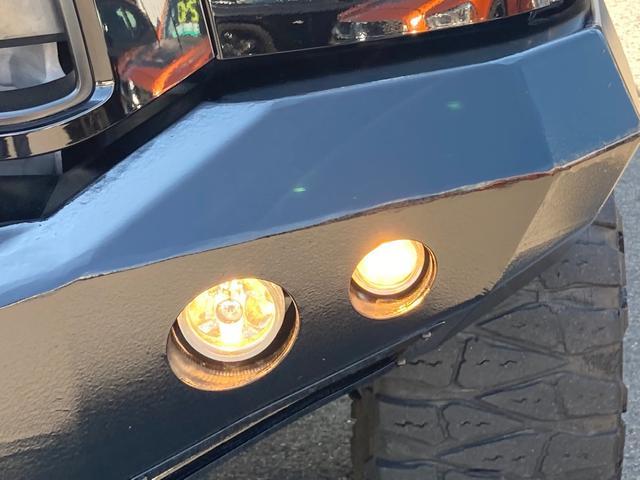クルーマックス TRDロックウォーリアPKG 新車並行 CARFAX&オートチェック リフトアップ KMCアルミ マッドタイヤ Smittybiltフロント・リアバンパー・サイドステップ ブッシュワーカー オバフェン(53枚目)