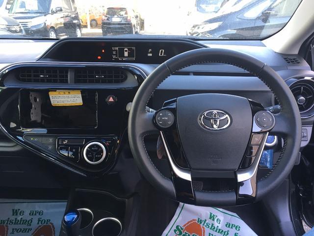 トヨタ アクア G トヨタセーフティセンス クルーズコントロール