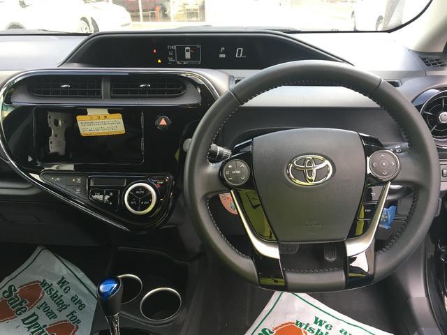 トヨタ アクア G トヨタセーフティセンス スマートエントリー クルコン
