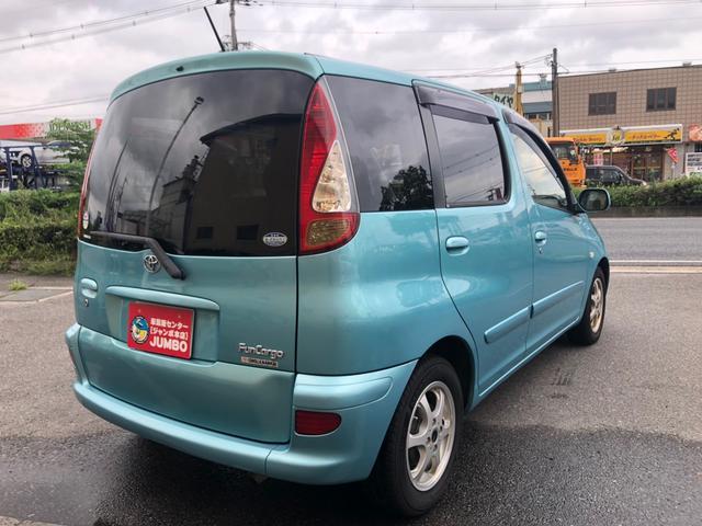 「トヨタ」「ファンカーゴ」「ミニバン・ワンボックス」「京都府」の中古車7