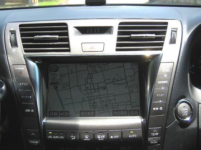 レクサス LS LS460 バージョンC 車高調20icアルミ HDDナビ