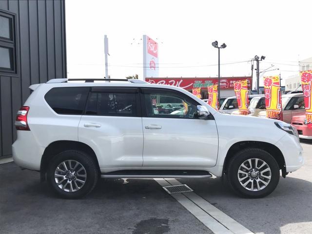 「トヨタ」「ランドクルーザープラド」「SUV・クロカン」「滋賀県」の中古車4