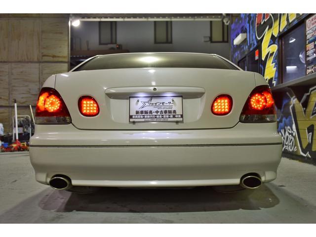 トヨタ アリスト S300ベルテックスエディション 車高調 社外19AW