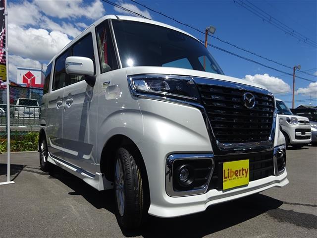 「マツダ」「フレアワゴンカスタムスタイル」「コンパクトカー」「大阪府」の中古車3