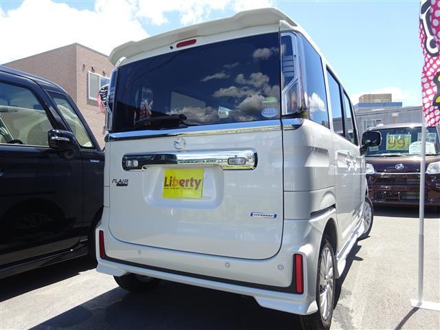 「マツダ」「フレアワゴンカスタムスタイル」「コンパクトカー」「大阪府」の中古車4