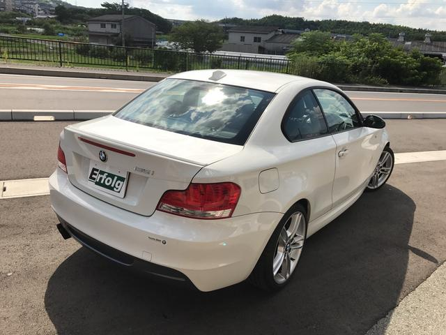 135i ターボ 黒本革シート 純正ナビ HID Pシート(8枚目)
