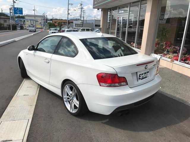 135i ターボ 黒本革シート 純正ナビ HID Pシート(9枚目)