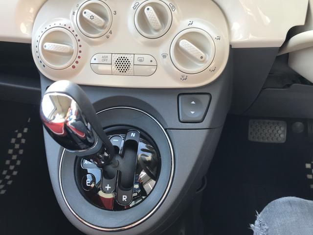 フィアット フィアット 500C 1.2 8V ポップ カブリオレ MTモード 純正アルミ