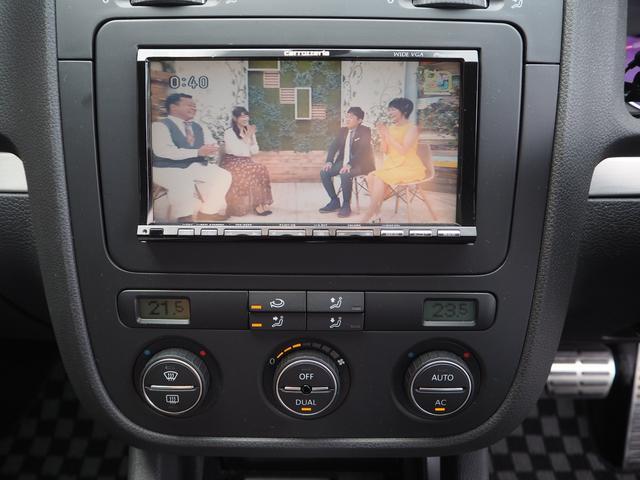 フォルクスワーゲン VW ゴルフ GTI ワンオーナー 禁煙車 車高調 フルセグ対応HDDナビ