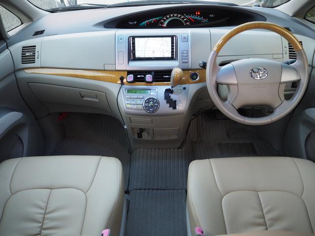 トヨタ エスティマ 2.4アエラス Gエディション 7人乗 HDDナビ 自動ドア