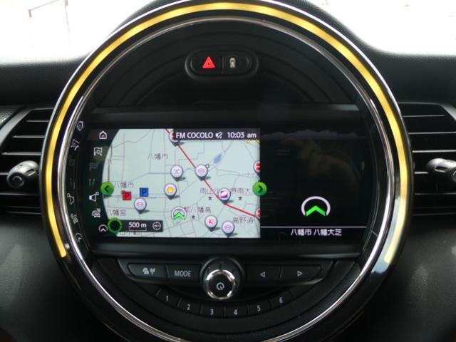 クーパー ペッパーPKG ストリートスタイル ユニオンジャックデザインLEDテール ナビゲーションPKG ドライビングアシスト 前席シートヒーター 衝突軽減ブレーキ キーフリー Bluetooth 禁煙車(4枚目)