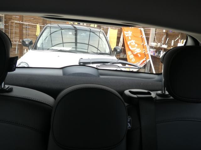 クーパー ペッパーPKG ストリートスタイル ユニオンジャックデザインLEDテール ナビゲーションPKG ドライビングアシスト 前席シートヒーター 衝突軽減ブレーキ キーフリー Bluetooth 禁煙車(19枚目)