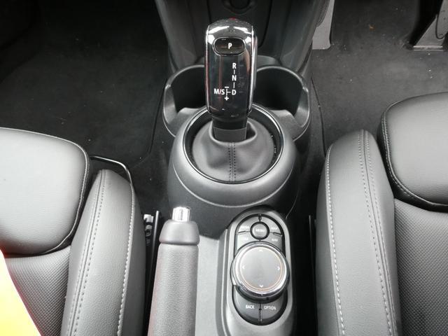 クーパー ペッパーPKG ストリートスタイル ユニオンジャックデザインLEDテール ナビゲーションPKG ドライビングアシスト 前席シートヒーター 衝突軽減ブレーキ キーフリー Bluetooth 禁煙車(20枚目)