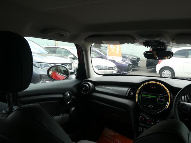 クーパー ペッパーPKG ストリートスタイル ユニオンジャックデザインLEDテール ナビゲーションPKG ドライビングアシスト 前席シートヒーター 衝突軽減ブレーキ キーフリー Bluetooth 禁煙車(48枚目)